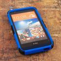 HTC Desire 510 512 - Blue MPERO IMPACT XT - Kickstand Case Cover Angle 2