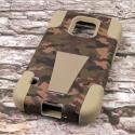 Samsung Galaxy S5 Active - Hunter Camo MPERO IMPACT X - Kickstand Case Cover Angle 3