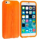 Apple iPhone 6 6S (4.7) Wood Grain TPU Design Soft Case Cover Angle 1