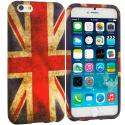 Apple iPhone 6 Plus 6S Plus (5.5) The Union Flag TPU Design Soft Rubber Case Cover Angle 1
