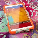 Samsung Galaxy Note 3 - Coral/ Mint MPERO IMPACT X - Kickstand Case Cover Angle 2