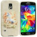 Samsung Galaxy S5 Unicorn TPU Design Soft Case Cover Angle 2