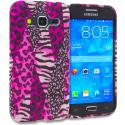 Samsung Galaxy Prevail LTE Core Prime G360P Bowknot Zebra TPU Design Soft Rubber Case Cover Angle 1