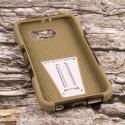 Samsung Galaxy S6 - Hunter Camo MPERO IMPACT X - Kickstand Case Cover Angle 2