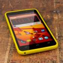 ZTE Boost Max - Yellow MPERO FLEX S - Protective Case Cover Angle 2