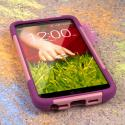 LG G2 - Pink MPERO IMPACT X - Kickstand Case Cover Angle 2