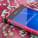 Sony Xperia Z2 - Hot Pink MPERO IMPACT SR - Kickstand Case Cover Angle 5