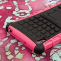 Sony Xperia Z2 - Hot Pink MPERO IMPACT SR - Kickstand Case Cover Angle 7