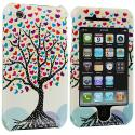 Apple iPhone 3G / 3GS Love Tree (Covered) Design Crystal Hard Case Cover Angle 1