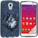 LG Volt LS740 Wolf TPU Design Soft Rubber Case Cover Angle 1
