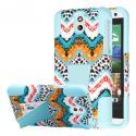 HTC Desire 610 - Aqua Safari MPERO IMPACT X - Kickstand Case Cover Angle 1