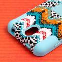 HTC Desire 610 - Aqua Safari MPERO IMPACT X - Kickstand Case Cover Angle 6