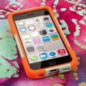 Apple iPhone 5C - Coral/ Mint MPERO IMPACT X - Kickstand Case Cover Angle 2