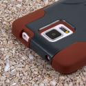 Samsung Galaxy Note 4 - Sandstone / Gray MPERO IMPACT X - Kickstand Case Angle 7