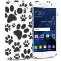 Samsung Galaxy S7 Dog Paw TPU Design Soft Rubber Case Cover Angle 1
