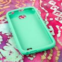 BLU Studio 5.3 II - Mint Green MPERO SNAPZ - Rubberized Case Cover Angle 2
