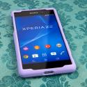 Sony Xperia Z2 - Radiant Orchid MPERO SNAPZ - Case Cover Angle 2