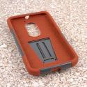 Motorola Moto X 2014 2nd Gen - Sandstone / Gray MPERO IMPACT X - Stand Case Angle 2