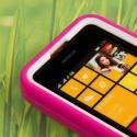 Nokia Lumia 530 - Hot Pink MPERO IMPACT XL - Kickstand Case Cover Angle 5