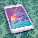 Samsung Galaxy Note 4 - Radiant Orchid MPERO SNAPZ - Case Cover Angle 2