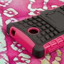 Nokia X - Hot Pink MPERO IMPACT SR - Kickstand Case Cover Angle 7