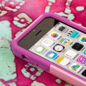 Apple iPhone 5C - Pink MPERO IMPACT X - Kickstand Case Cover Angle 5