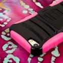 Apple iPhone 5/5S/SE - Pink MPERO IMPACT XT - Stand Case and Belt Holster Angle 6