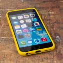 Apple iPhone 6/6S - Yellow MPERO FLEX S - Protective Case Cover Angle 3