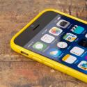 Apple iPhone 6/6S - Yellow MPERO FLEX S - Protective Case Cover Angle 4