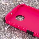 Motorola Moto X 2014 2nd Gen - Hot Pink MPERO IMPACT SR - Kickstand Case Angle 5
