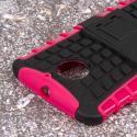 Motorola Moto X 2014 2nd Gen - Hot Pink MPERO IMPACT SR - Kickstand Case Angle 6