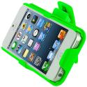 Apple iPhone 5/5S/SE Neon Green Hard Rubberized Belt Clip Holster Case Cover Angle 9