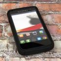 Alcatel OneTouch Evolve - Black MPERO FUSION M - Protective Case Cover Angle 2