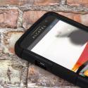 Alcatel OneTouch Evolve - Black MPERO FUSION M - Protective Case Cover Angle 4