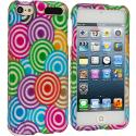 Apple iPod Touch 5th 6th Generation Colorful Lolly Hard Rubberized Design Case Cover Angle 1