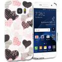 Samsung Galaxy S7 Edge Love desert on Sliver TPU Design Soft Rubber Case Cover Angle 1