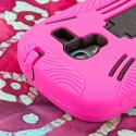 Samsung Galaxy Exhibit T599 - Hot Pink MPERO IMPACT XL - Kickstand Case Angle 6