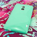 HTC One Max T6 - MINT GREEN MPERO FLEX S - Protective Case Cover Angle 3
