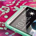 HTC One Max T6 - MINT GREEN MPERO FLEX S - Protective Case Cover Angle 4