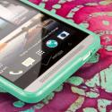 HTC One Max T6 - MINT GREEN MPERO FLEX S - Protective Case Cover Angle 5