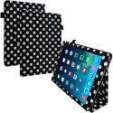 Apple iPad Air Polka Dot Folio Pouch Flip Case Cover Stand Angle 1