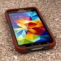 Samsung Galaxy S5 - Sandstone / Gray MPERO IMPACT X - Kickstand Case Cover Angle 2