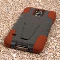 Samsung Galaxy S5 - Sandstone / Gray MPERO IMPACT X - Kickstand Case Cover Angle 3