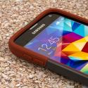 Samsung Galaxy S5 - Sandstone / Gray MPERO IMPACT X - Kickstand Case Cover Angle 5