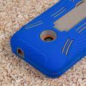 Nokia Lumia 530 - Blue MPERO IMPACT XL - Kickstand Case Cover Angle 6