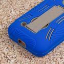 Nokia Lumia 530 - Blue MPERO IMPACT XL - Kickstand Case Cover Angle 7