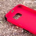 Samsung Galaxy S6 - Hot Pink MPERO IMPACT SR - Kickstand Case Cover Angle 5
