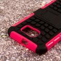 Samsung Galaxy S6 - Hot Pink MPERO IMPACT SR - Kickstand Case Cover Angle 6