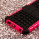 Samsung Galaxy S6 - Hot Pink MPERO IMPACT SR - Kickstand Case Cover Angle 7