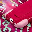 Apple iPhone 5C - Hot Pink/ Pink MPERO IMPACT X - Kickstand Case Cover Angle 7